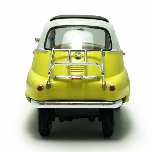 1//18 Scale Vintage 1955 BMW Isetta Model Car Metal Diecast Vehicle Collection