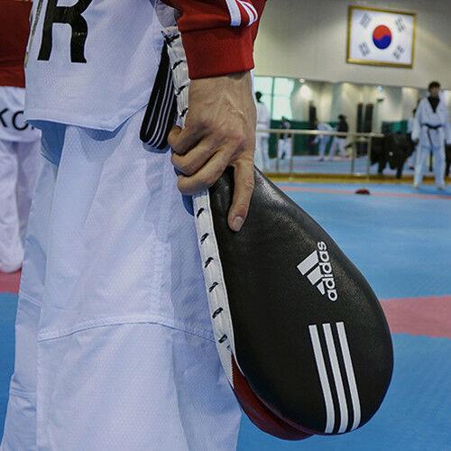 Adidas Original Genuine Focus Pads Mitts Double Paddles Kicking Punching 2 Pcs