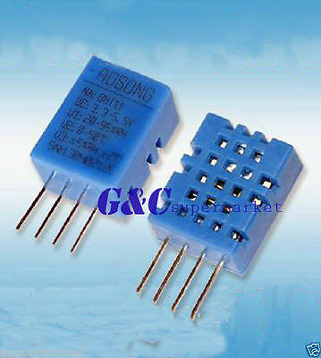 2PCS DHT11 DHT-11 Digital Temperature and Humidity Sensor AOSONG NEW GOO QUALITY