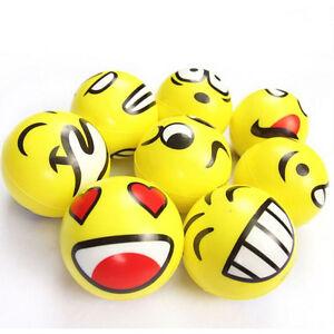 Gesicht-Anti-Stress-Ball-ADHS-Autismus-Stimmung-Toy-Squeeze-Entlasten-SR-SC