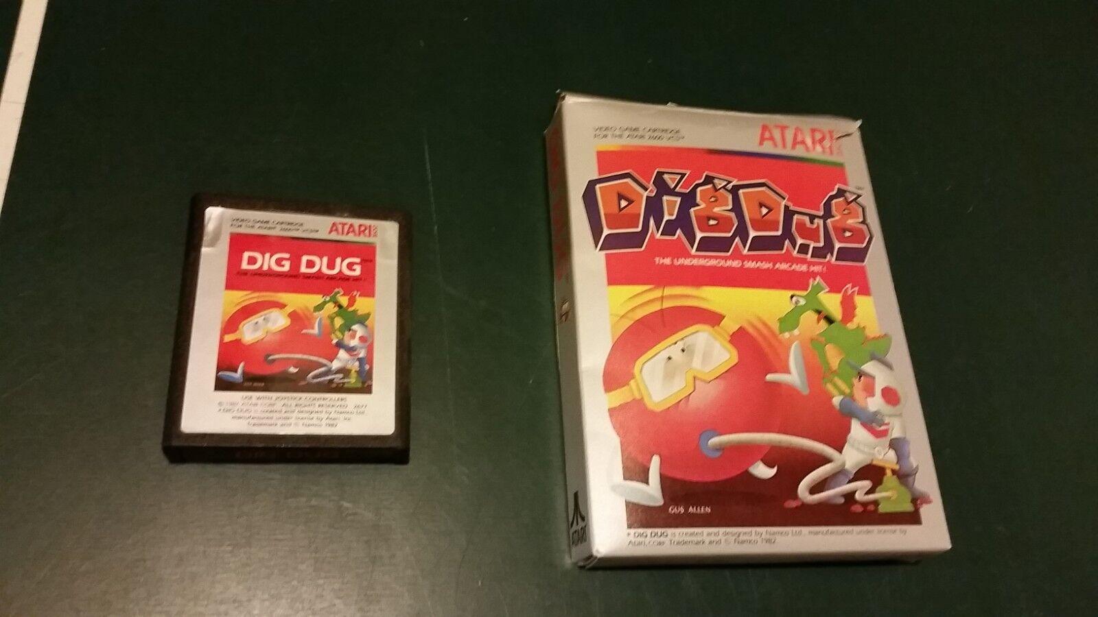 Buy Dig Dug Atari 2600 1983 Online Ebay