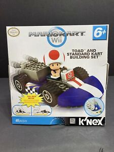 K'NEX Nintendo Mario Kart Wii Toad Standard Kart Building Set NIB