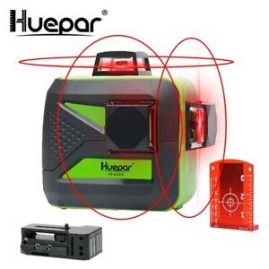 Huepar-12-lineas-3D-Cruz-de-nivel-laser-autonivelante-360-horizontal-y-vertical