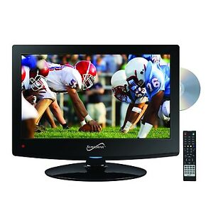 Supersonic-15-6-Inch-LED-Widescreen-HDTV-w-Remote-HDMI-Built-In-DVD-AC-DC