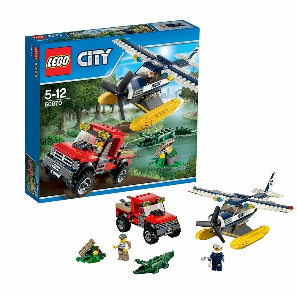 LEGO City Water Plane Chase 60070