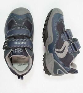 Details zu Jungen Klettschuhe GEOX Respira Schuhe Sneakers Boots Halbschuhe Klett Gr 30 NEU