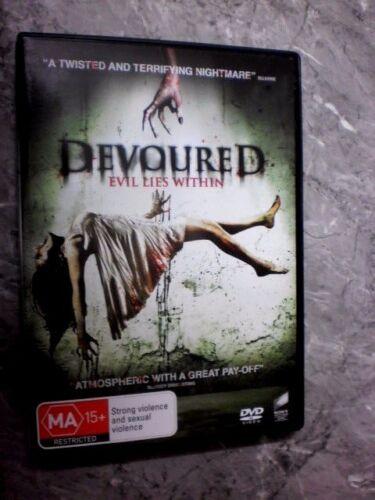 1 of 1 - Devoured Evil Lies Within (DVD, Region 4) A2