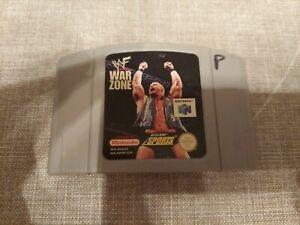 WWF War Zone NINTENDO 64 N64 Seminuevo Solo Carro
