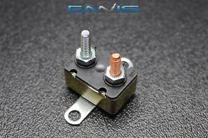 (1) 40 AMP AUTO RESET CIRCUIT BREAKER ELECTRIC WIRING POWER SWITCH CB40AR