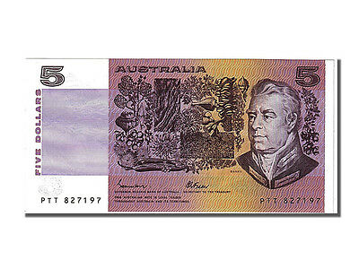 Unc 5 Dollars 65-70 Ptt To Ensure A Like-New Appearance Indefinably Km #44e 1985 #102759 Australia