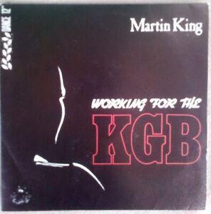 "Martin King (Working For The) KGB vinilo single 7"""