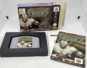 Bio Freaks-N64 Nintendo 64 (PAL, en caja) completa CIB