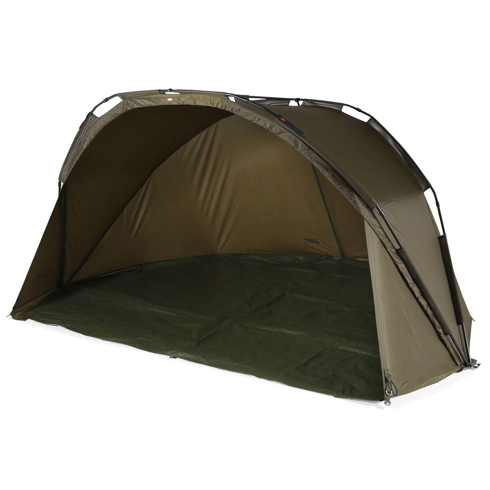 JRC Defender Shelter Angelzelt Karpfenzelt 200x280x135cm 5000mm Alu Rahmen
