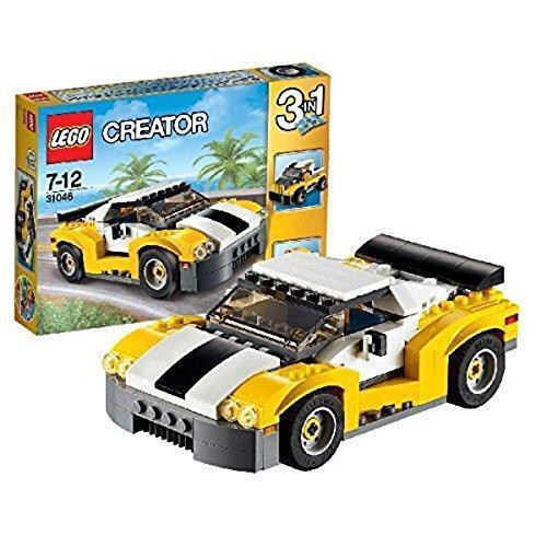 LEGO Creator 31046 3-in-1 Sportflitzer Kinder Spielzeug Rennwagen Rennauto ab 7