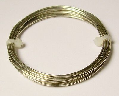 Coil Solid Nickel Silver Wire 72 Ft 22 Ga Nickel Silver Wire Round Soft 2 Oz