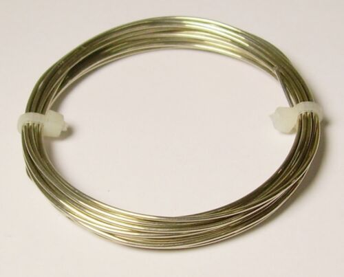 14 Ga Nickel Silver Wire Round Soft 2 Oz.12 Ft Coil Solid Nickel Silver Wire
