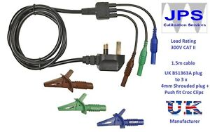 PAT Test Adaptor  Hardwired Appliances without plugs JPSS026b