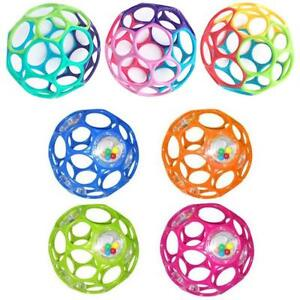 Baby Sphère oball baby ball toy rattle flexible easy grip bend classic play fun