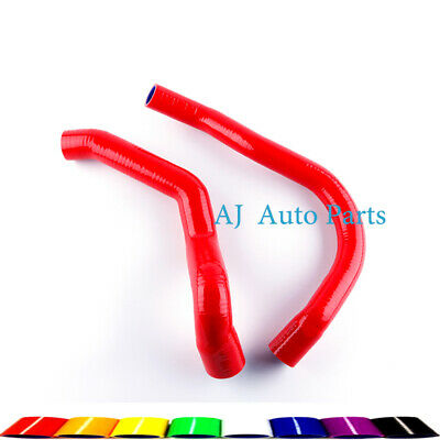 For Jeep Cherokee XJ 4.0L I6 1991-2001 Red Silicone Radiator Hose Pipe Kit