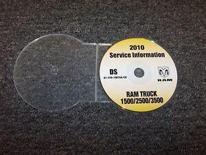 2010 dodge ram 1500 2500 3500 truck service repair manual dvd slt st rh ebay com 2010 dodge ram 1500 owners manual pdf 2010 dodge ram 1500 owners manual pdf