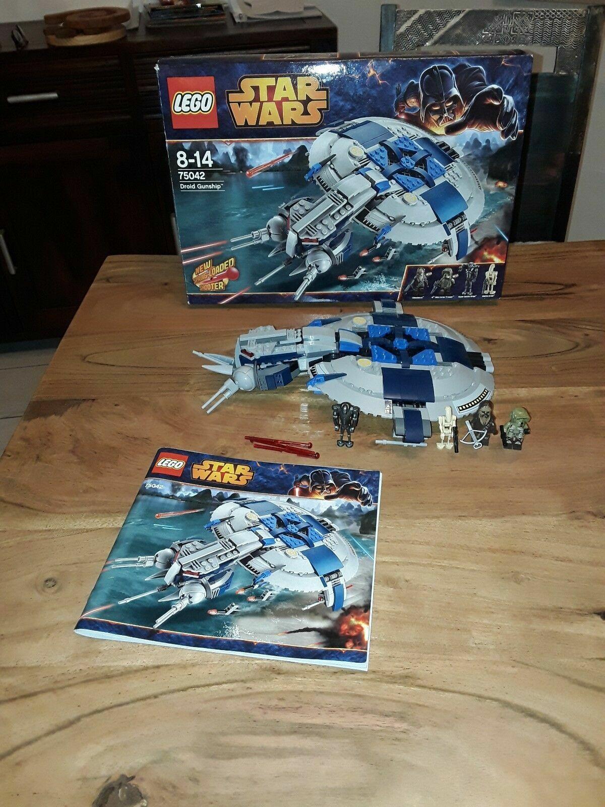 LEGO StarWars Droid Gunship (75042) mit OVP - VOLLSTÄNDIG