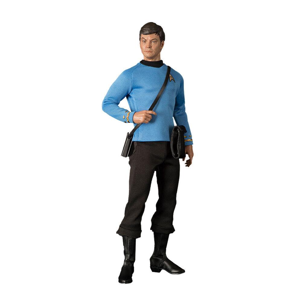 gran selección y entrega rápida Estrella Trek TOS Leonard Leonard Leonard  Bones  McCoy 1 6 acción figura QMX oficial Coleccionable  sin mínimo