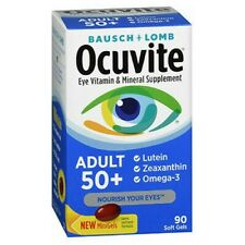 Bausch + Lomb Ocuvite Adult 50 Eye Vitamin & Mineral Supplement - 90 Softgels