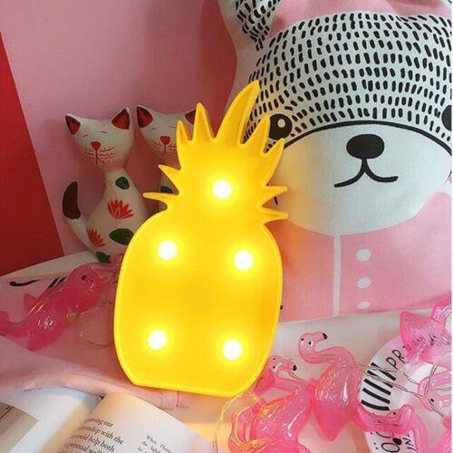 3D Star Moon Tier Einhorn LED Nachtlicht Wandlampe Baby Kinder Schlafzimmer DE