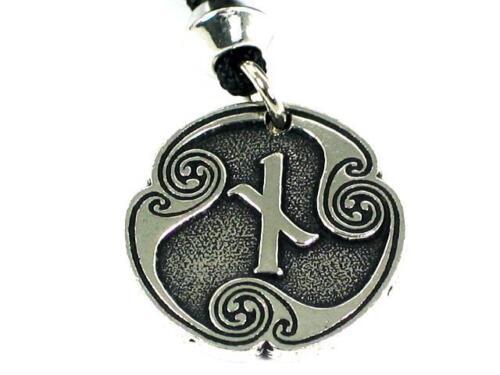 Cause /& Effect Handmade Nied Rune of  Constraint Viking Pewter Pendant Naudiz