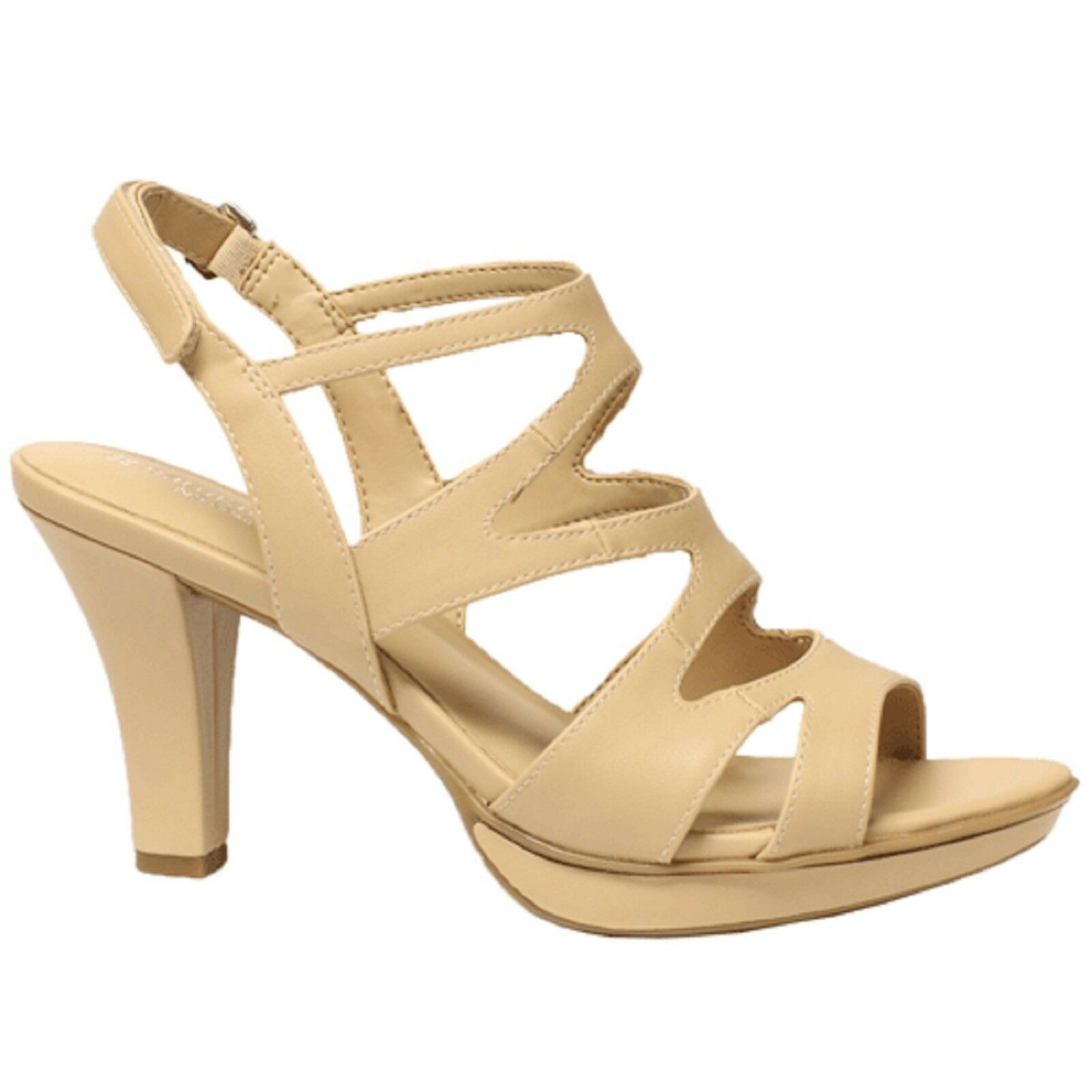 Women Naturalizer Naturalizer Naturalizer DIANNA E5554S4901 Tender Taupe Sticking Strap Heel Pump shoes 82c255