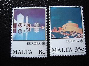Malta-Briefmarke-Yvert-Und-Tellier-Europa-N-747-748-N-Briefmarke-Malta-A