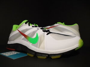 new style c3a5c 7236f Details about NIKE FREE TRAINER 5.0 V3 TRAINING CAMP PROMO SAMPLE PE WHITE  GREEN RED BLACK 11