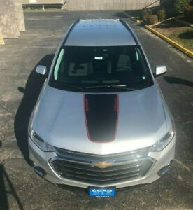 2015 Chevy Traverse For Sale >> 2015-2020 CHEVROLET TRAVERSE REDLINE VINYL KIT HOOD DECAL ...