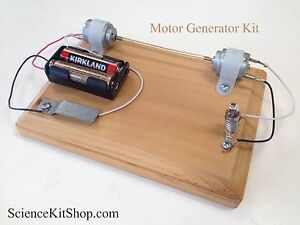 Motor Generator Science Project Kit Ebay