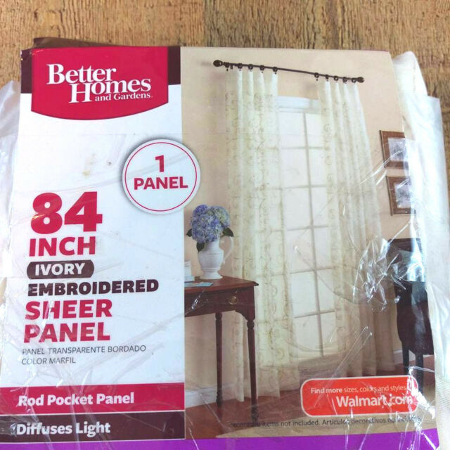 Better Homes & Gardens Sheer Panel 84