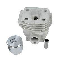 METEOR Cylinder Liner Pot & Piston Fits HUSQVARNA 357XP, 359 Chainsaw 46mm Bore