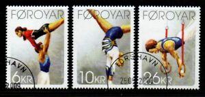 Faroe-Islands-Sc-514-16-2009-Thorshavn-Gymnastic-Club-stamp-set-used