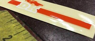 DK BMX Bike 01 General Lee  handlebar Decal Sticker Genuine dk dukes of hazzard