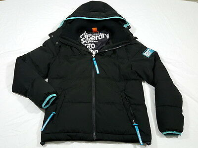 Superdry Scuba Micro Edition Black Decompression Puffer Jacket XL