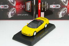 Kyosho 1/64 Honda NSX Type R Yellow Honda Minicar Collection 2011