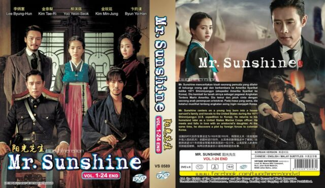 Korean Drama DVD Mr  Sunshine 2018 Good Eng Sub All Region