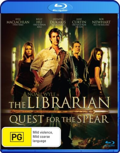 1 of 1 - The Librarian - Quest For The Spear (Blu-ray, 2008) Region B