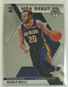 Nicolo-Melli-rookie-NBA-Debut-2019-20-Panini-Mosaic-New-Orleans-Pelicans