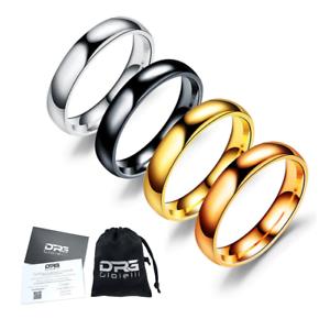 Anello-fede-fedina-in-acciaio-semplice-4-mm-incisione-personalizzato-uomo-donna