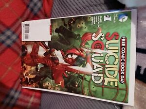 Suicide-Squad-1-New-52-Harley-Quinn-DC-comics-HIGH-GRADE-free-comic-day-2016