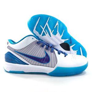 0eb784da1147a Details about Nike Kobe IV 4 Protro Draft Day Hornets White Purple Blue  AV6339-100 Men's 14