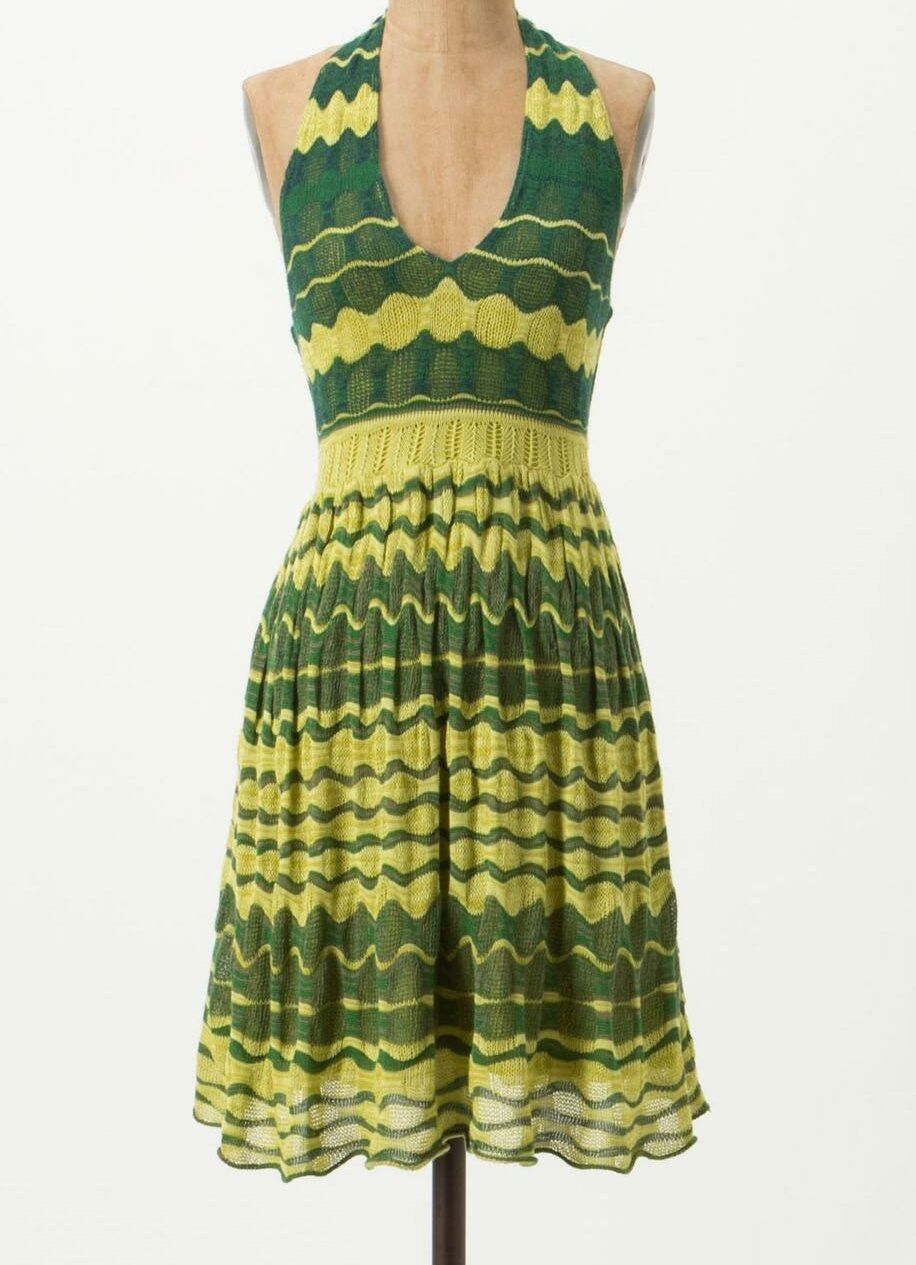 Charlie & Robin Lemon-Lime Sweater Dress Small, Medium Green NW ANTHROPOLOGIE Ta