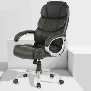 Office Desk Chair Ergonomic Swivel Executive Adjustable Computer Chair High Back