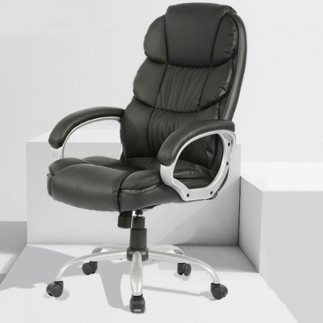 Swell Office Desk Chair Ergonomic Swivel Executive Adjustable Computer Chair High Back Gmtry Best Dining Table And Chair Ideas Images Gmtryco
