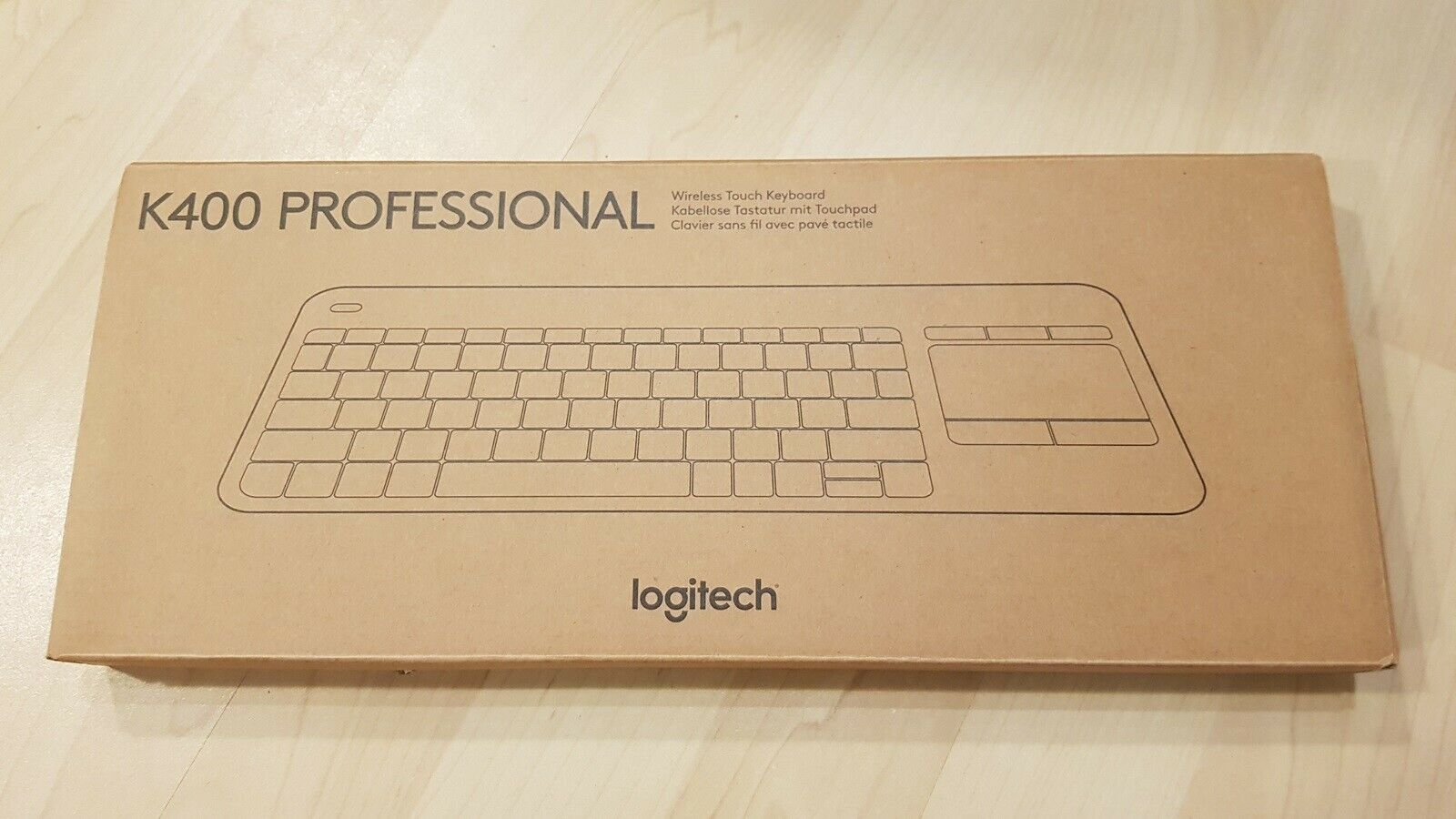Kabellose Mini Tastatur mit Touchpad